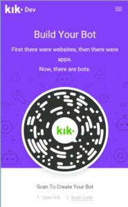 Build Kik Bot