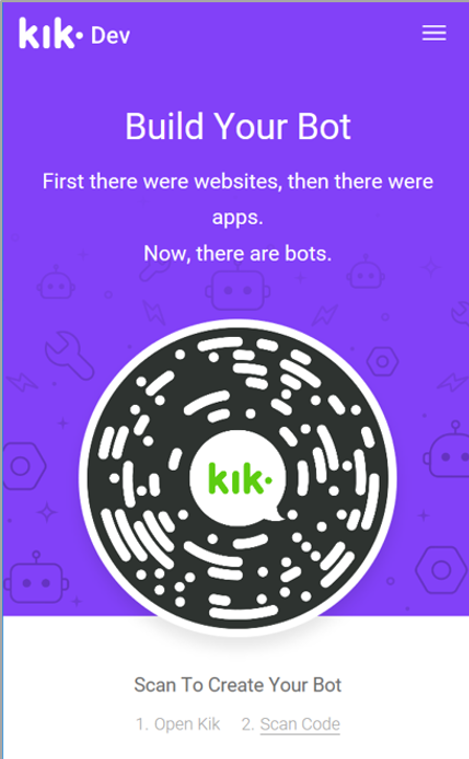 Build Kik Bot