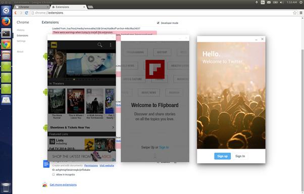 Install Kik Messenger Using Chrome OS APK